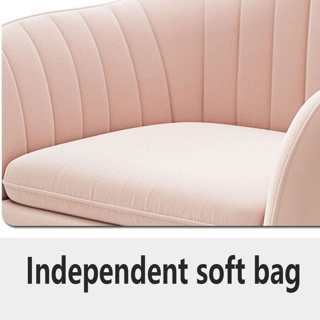 XBSLJ Hopfällbar golvstol matstolar, mjuk sammetskuddesäte rostfritt metall halkskydd fotkeps kan justeras köksstolar nordisk stil kontorsstol (färg: E) G