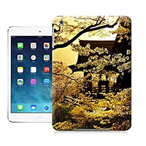 Custom Ipad Mini Wearproof Slim Golden Sakura Phone Case Cover