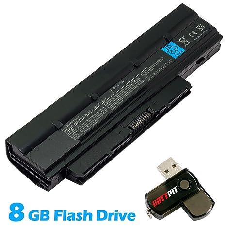 Battpit Recambio de Bateria para Ordenador Portátil Toshiba Mini NB505-SP0160 (4400 mah)