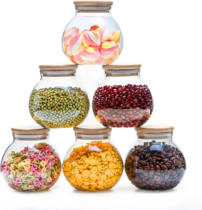 The Best Small Decorative Glass Jars For Food