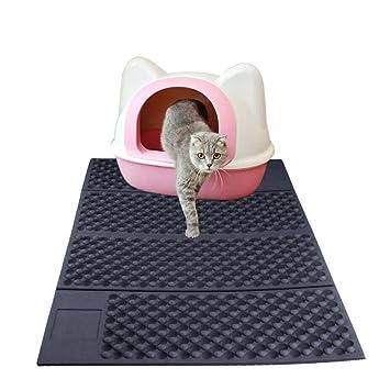 yunt alfombra de arena de gato alfombra plegable bicolor para bandeja de arena de goma EVA Robuste: Amazon.es: Productos para mascotas