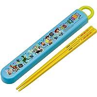 玩具总动员儿童用筷子、汤匙套装 蓝色/黄色 16.5cm ABS2AM