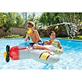 """Intex Water Gun Plane Ride-On, 52"""" x 51"""", for Ages"""