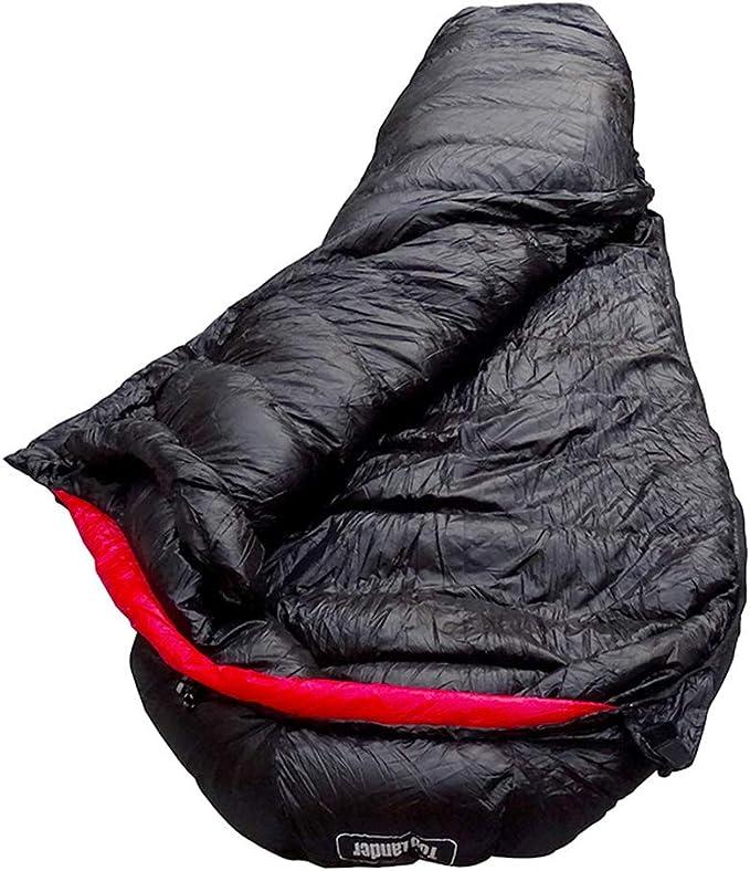 Lixada Saco de Dormir Momia Ligero T/érmica de Invierno Compacto para Mochilero Camping Senderismo al Aire Libre