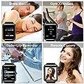 Bluetooth Smart Watch with Camera, Touchscreen Smart Wrist Watch with Sim Card Slot, Camera Controller Bluetooth Watch Unlocked Waterproof Smart Watch for iPhone Android Samsung Men Women