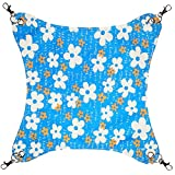 George Jimmy Pet Supplies Cat Beds Cat Hammock Cat Furniture 45 X 45 CM- Flower Blue