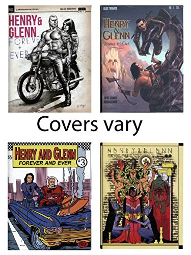 - Henry & Glenn Forever & Ever 1-4 Limited Edition Variant Cover Set! Complete Lot of All 4 Comics!