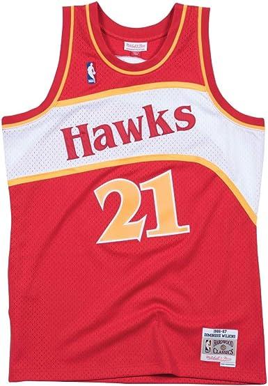 Mitchell & Ness Maillot Atlanta Hawks Dominique Wilkins #21 ...