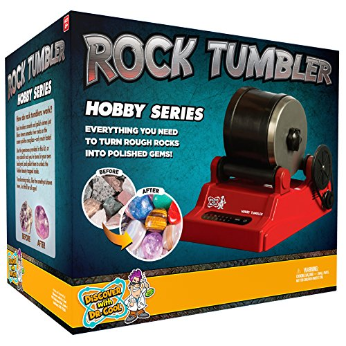 Discover with Dr. Cool Hobby Rock Tumbler – Easily Transform Rocks into -