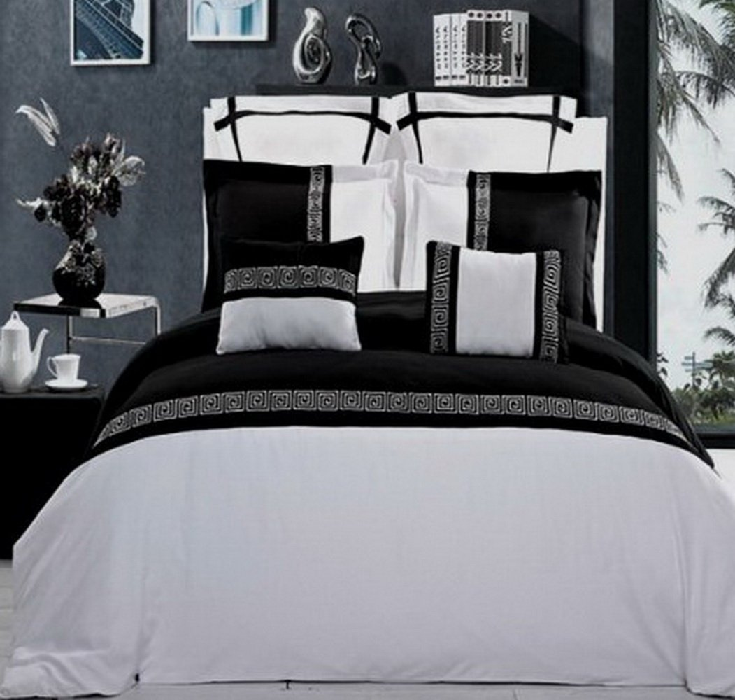 queen comforter and chevron ideas duvet for white stunning bedroom decoration black size