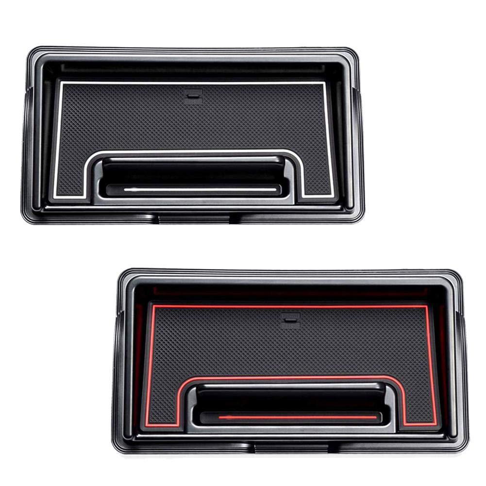 Color Rojo y Blanco para Suzuki Jimny Sierra JB64 JB74 Dough.Q Organizador para Caja de Herramientas de Coche