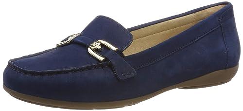 Geox D Annytah Moc a, Mocasines para Mujer, Azul (Blue C4028) 41 EU: Amazon.es: Zapatos y complementos