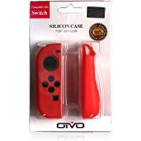 Funda De Silicona Para Joy-Con De Nintendo Switch (Rojo)