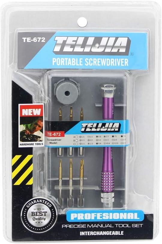 Hyx Tool Kits TE-967A 8 in 1 Screwdriver Repair Tool Set
