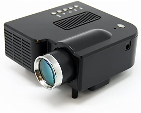 Amazon.com: Mini AV LED Digital proyector W/USB, ranura para ...