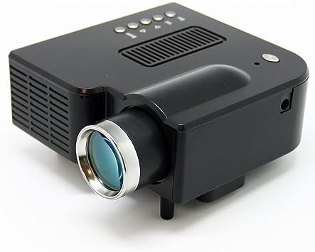 Amazon.com: Mini AV LED Digital proyector W/USB, ranura para ...