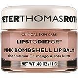 Lèvres Peter Thomas Roth à mourir pour Rose Bombshell Baume pour les lèvres