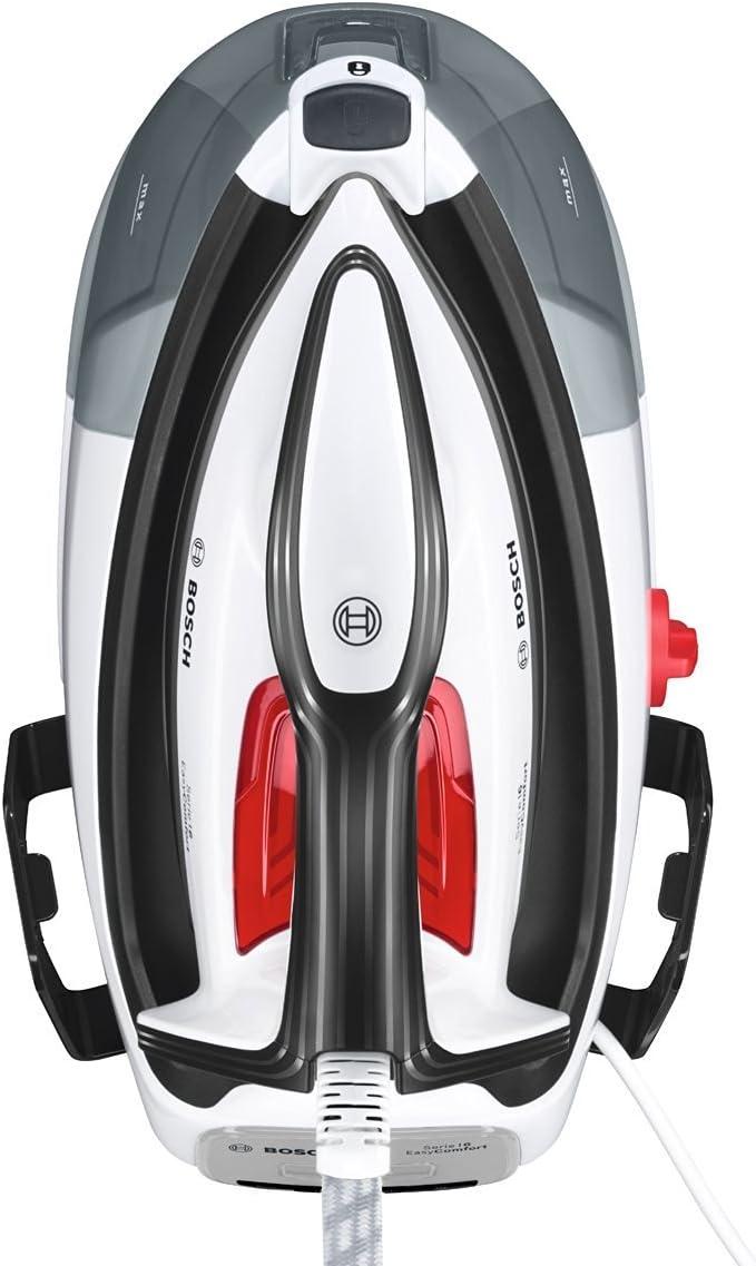 5.8 bares de presi/ón 6 EasyComfort TDS6040 Bosch Serie Centro de planchado color blanco y negro 2.400 W