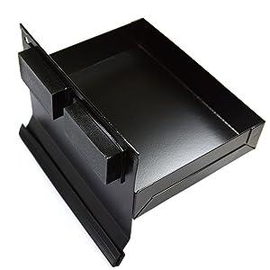 "CMS Magneitcs® Magnetic Tool Tray 6x4.5x1.25"" Black Tool Organizer"