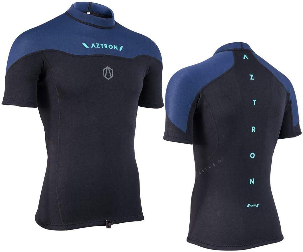 AZTRON Galileo Neo Top Neopreno Shirt Parte Superior 100% Super Ajustado Neopreno 2mm - 48 (S): Amazon.es: Deportes y aire libre