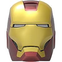 ekids Vi-B72IM Marvel Iron Man Helm Bluetooth Wireless Speaker met heldere ogen draagbaar goud/rood