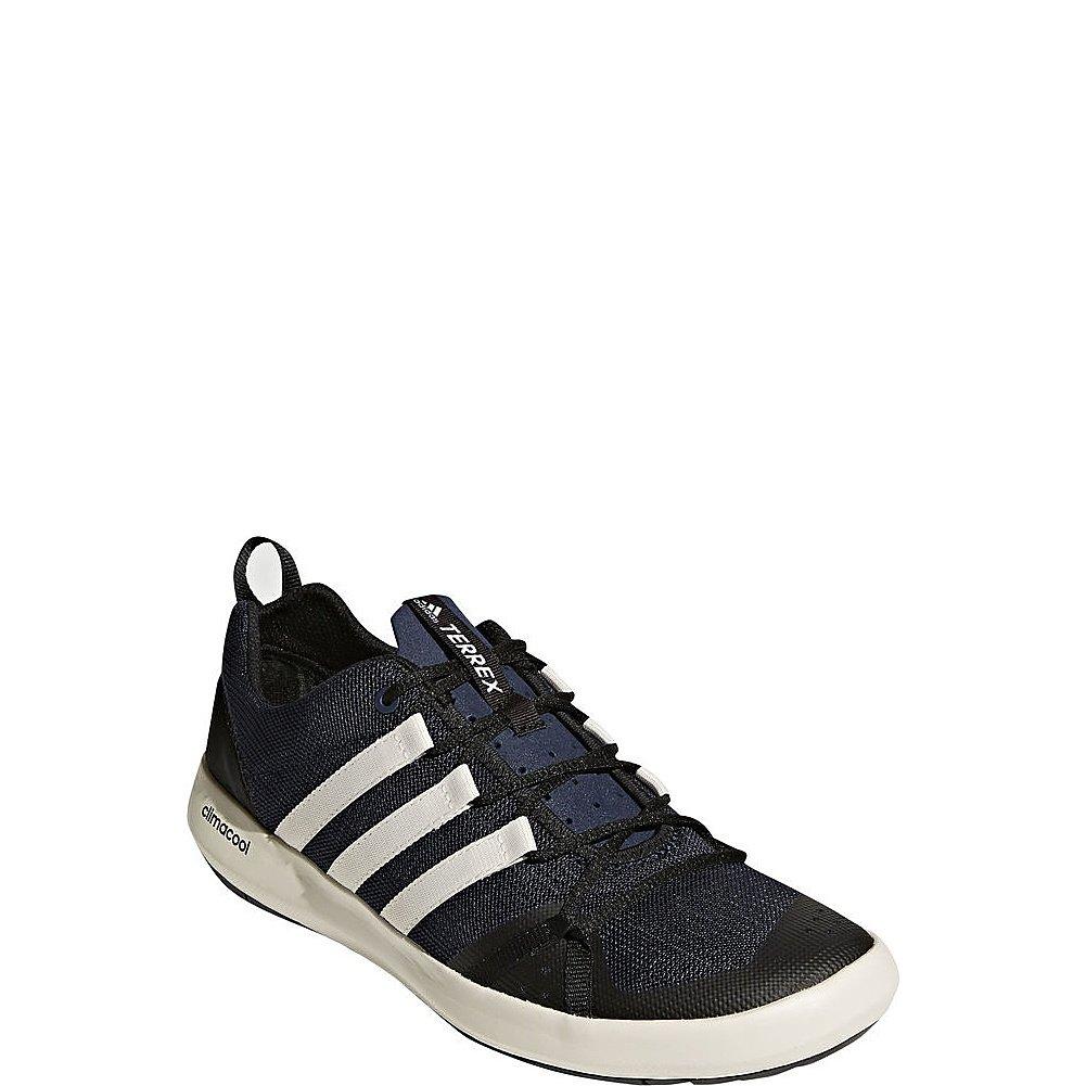 Compre un nuevo Adidas outdoor Hombre Terrex CC Boat Walking Zapatos Col Armada/ChalBlanco/Negro Productos Destacados