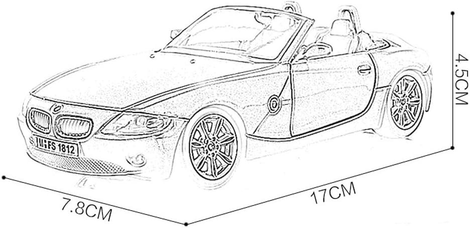Dongyd 1:24 Fundido a Troquel Z4 Modelo de Coche de aleación de ...