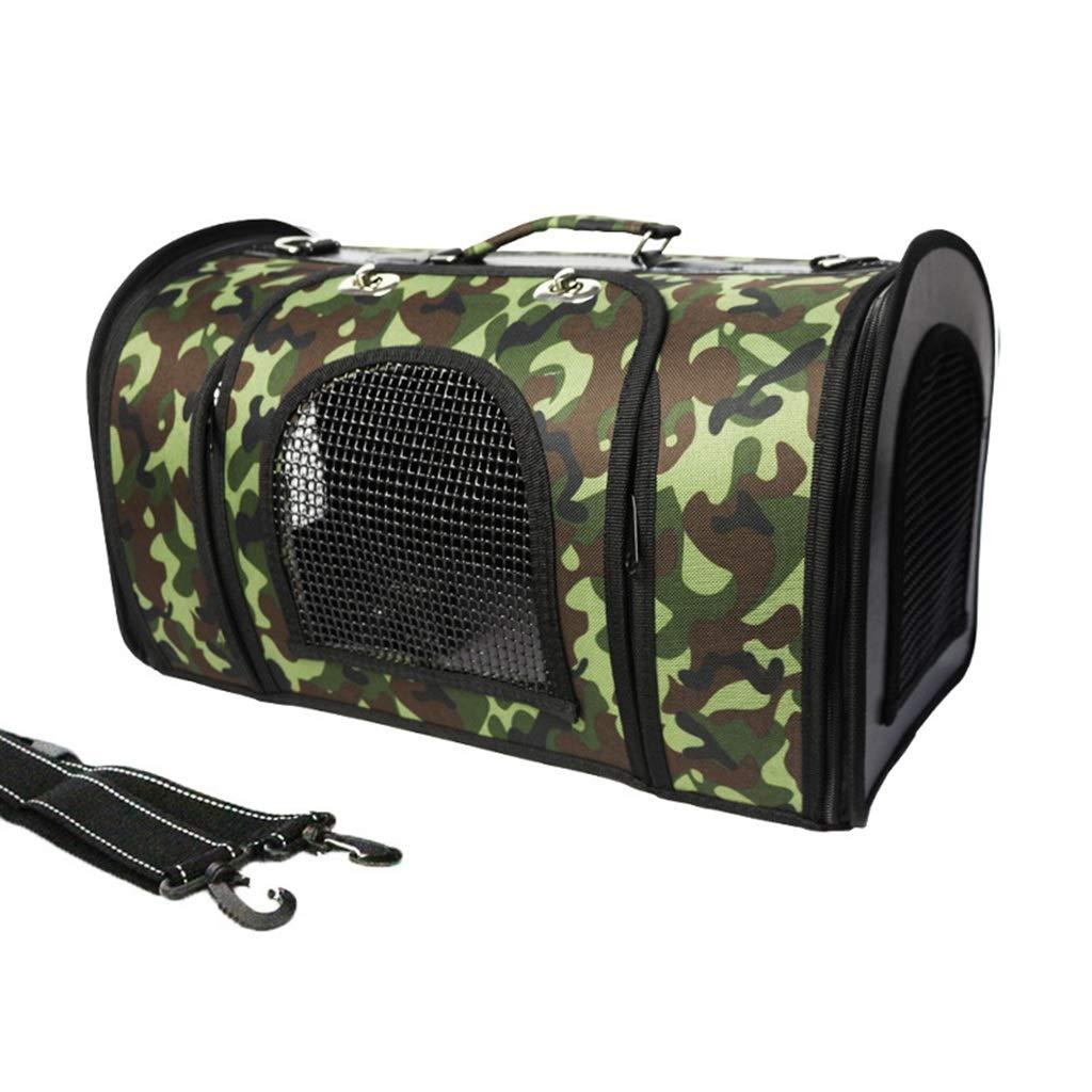 C MSSRS Pet dog backpack dog out portable folding bag breathable gas travel bag cat bag dog supplies (color   D, Size   S)