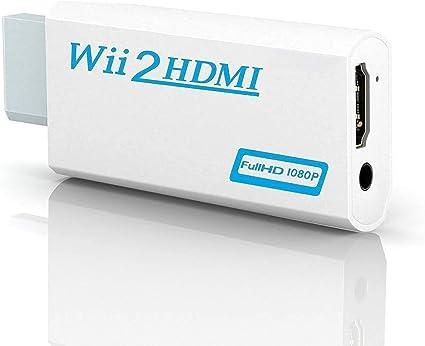 Yiyunte Wii Zu Hdmi Adapter Wii To Hdmi Konverter 720p Elektronik