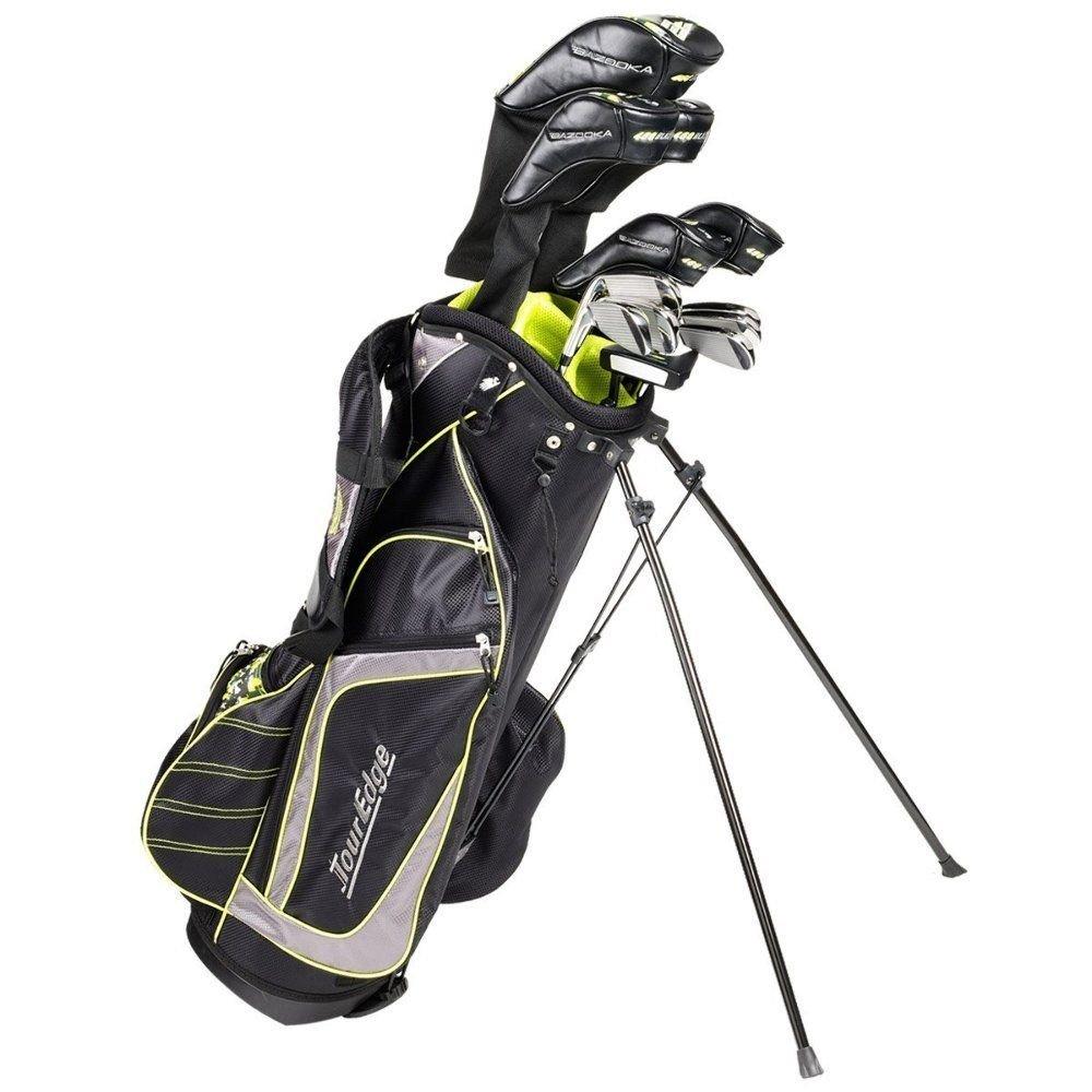 Tour Edge Golf Bazooka Steel Box Full Golf Club Set, Black by Tour Edge Golf (Image #1)