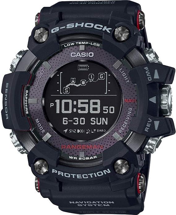 Casio Reloj Digital para Hombre de Cuarzo con Correa en Resina GPR ...