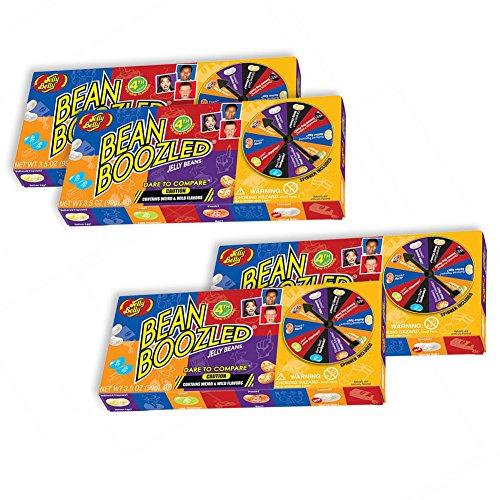 BeanBoozled Spinner Jelly Bean Gift Box - 4 Pack, 3.5 oz