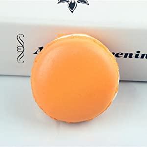 Stress Relief Toys Simulation Macaron Food Squishy Super Slow Rising Kids Toy - Macaron PU Decompression Toy Kits Random Color One Piece - Sensory Fidget Toys Anti-Stress Toys for Adult Teen Kids