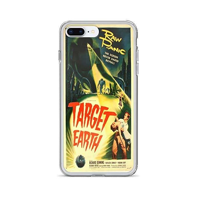 official photos 047e0 b4a00 Amazon.com: Vintage poster - Target Earth 1207 - iPhone 8 Plus Phone ...