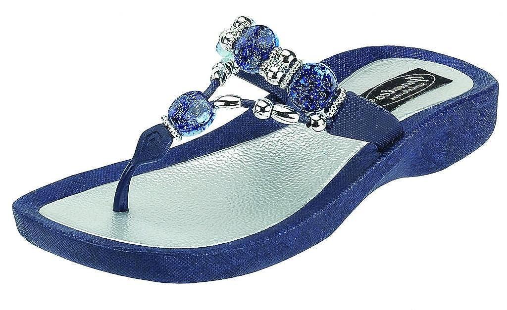 88b06e642948 Amazon.com  Grandco Women s Expression Thong Sandal  Shoes