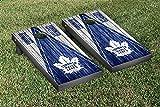 Toronto Maple Leafs NHL Regulation Cornhole Game Set Weathered Triangle Version