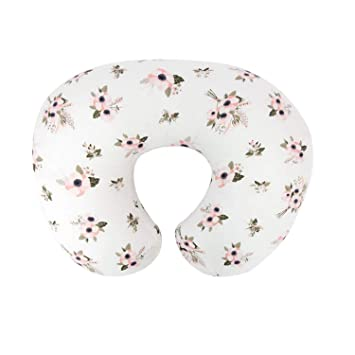 Extra Soft for Snug on Baby Nursing Pillow /& Newborn Infant Feeding LAT Nursing Pillow Cover Flower 100/% Natural Cotton Breastfeeding Pillow Slipcover