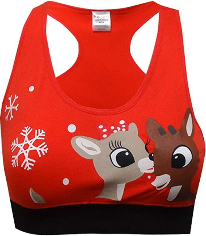 Rudolph the Red Nosed Reindeer Mens Sport Mesh T-Shirt