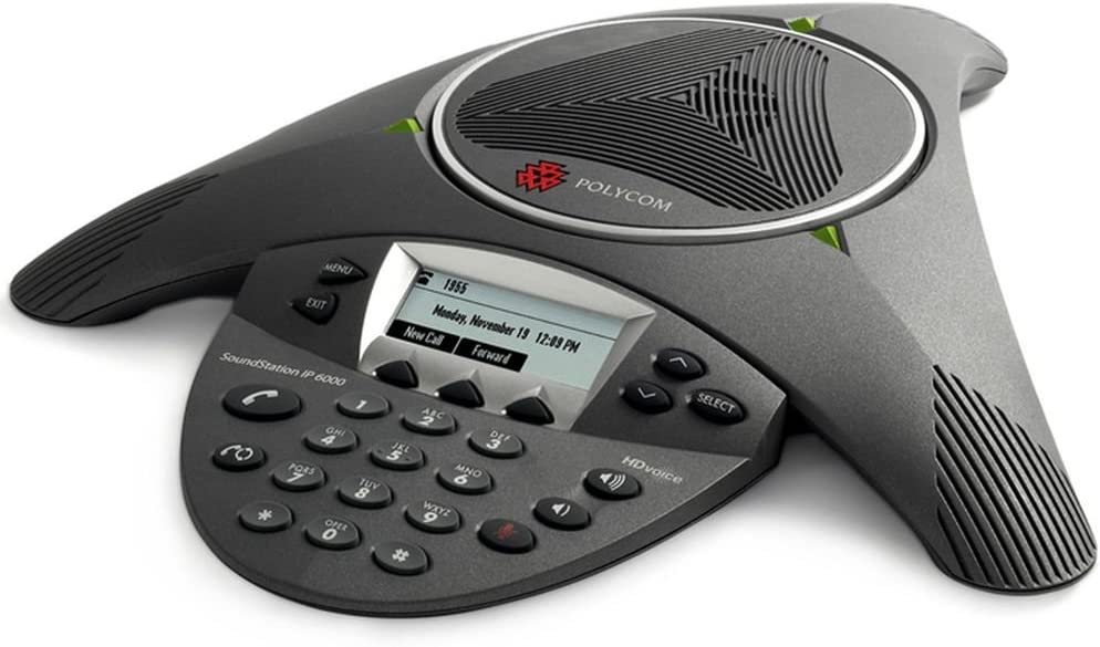 Polycom Soundstation Ip6000 Mit Netzteil Laendercode 4 Elektronik