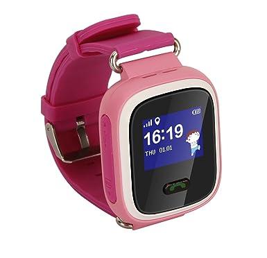 Childrens Smartwatch GPS Rastreador NIÑOS reloj de pulsera teléfono SIM anti-lost SOS pulsera Parent