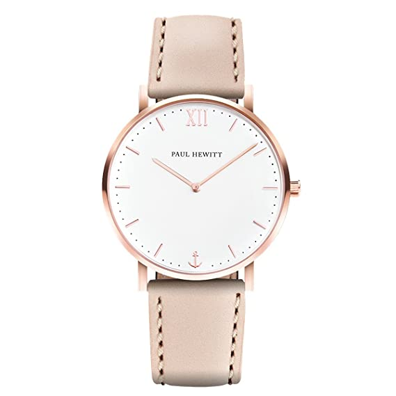 Hewitt Watch White Sand Rosa Relojes Color Line Caja Sail Oro Paul MVSqUGzp