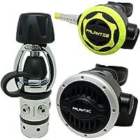 Palantic SCR-01-YOKE-NA-OC Scuba Diving Dive AS101 Yoke Regulator and Octopus Combo
