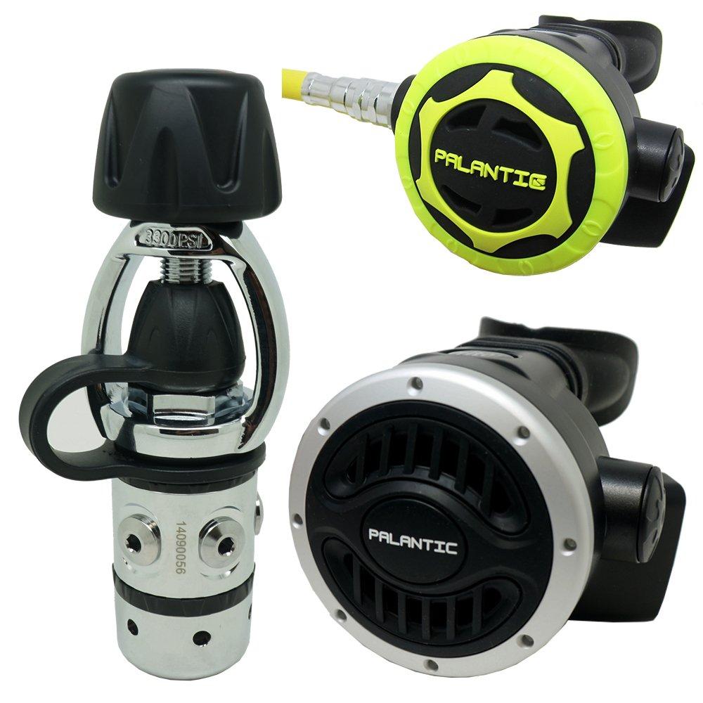 Palantic SCR-01-YOKE-NA-OC Scuba Diving Dive AS101 Yoke Regulator and Octopus Combo by Palantic
