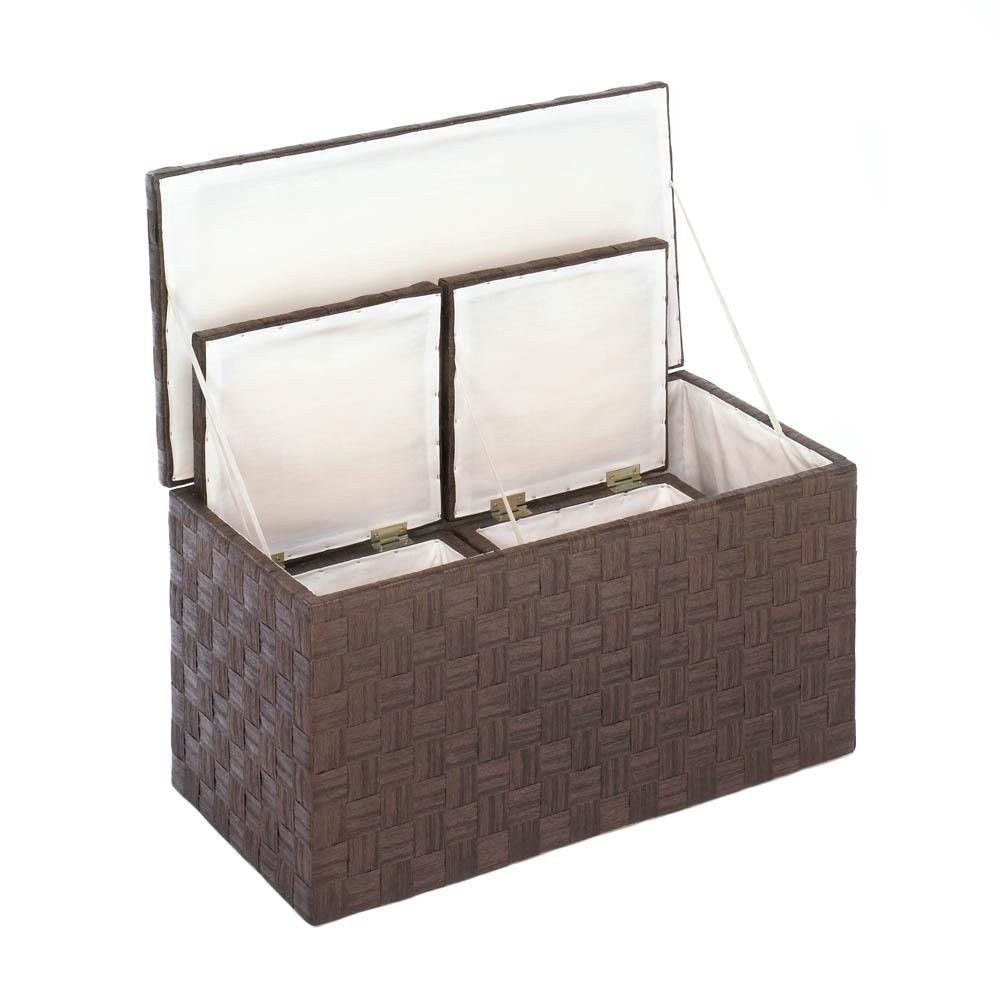 Nesting Storage Container, Decorative Woven Food Box Nested Storage