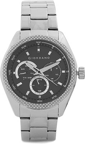 Giordano Chronograph Black Dial Men's Watch - 1696-11 at amazon
