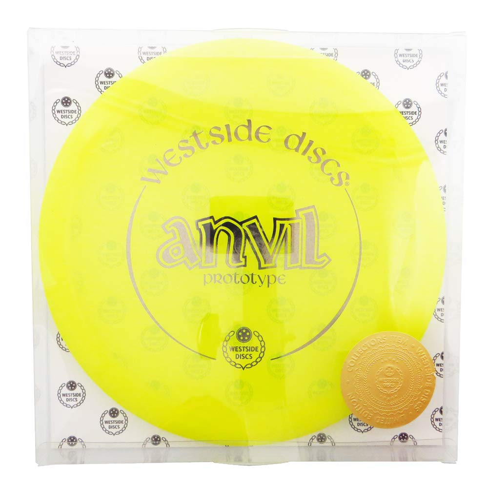 Westside Discs Limited Edition 1 of 120 Prototype VIP Anvil Midrange Golf Disc [Colors May Vary] - 160-176g