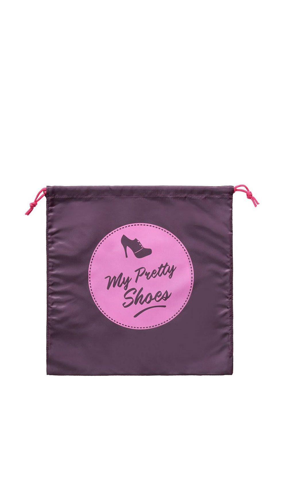 Cathy ds paris Clutch bag MY PRETTY SHOES Dark purple Women Spring/Summer Collection