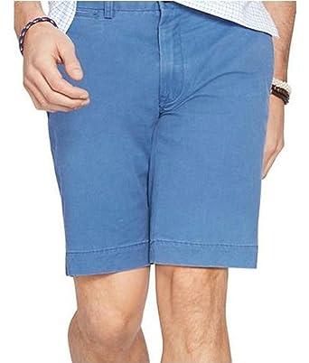cc51c4fe96 POLO Ralph Lauren Men's Slim-Fit Stretch-Chino Shorts (36, Spectrum Blue