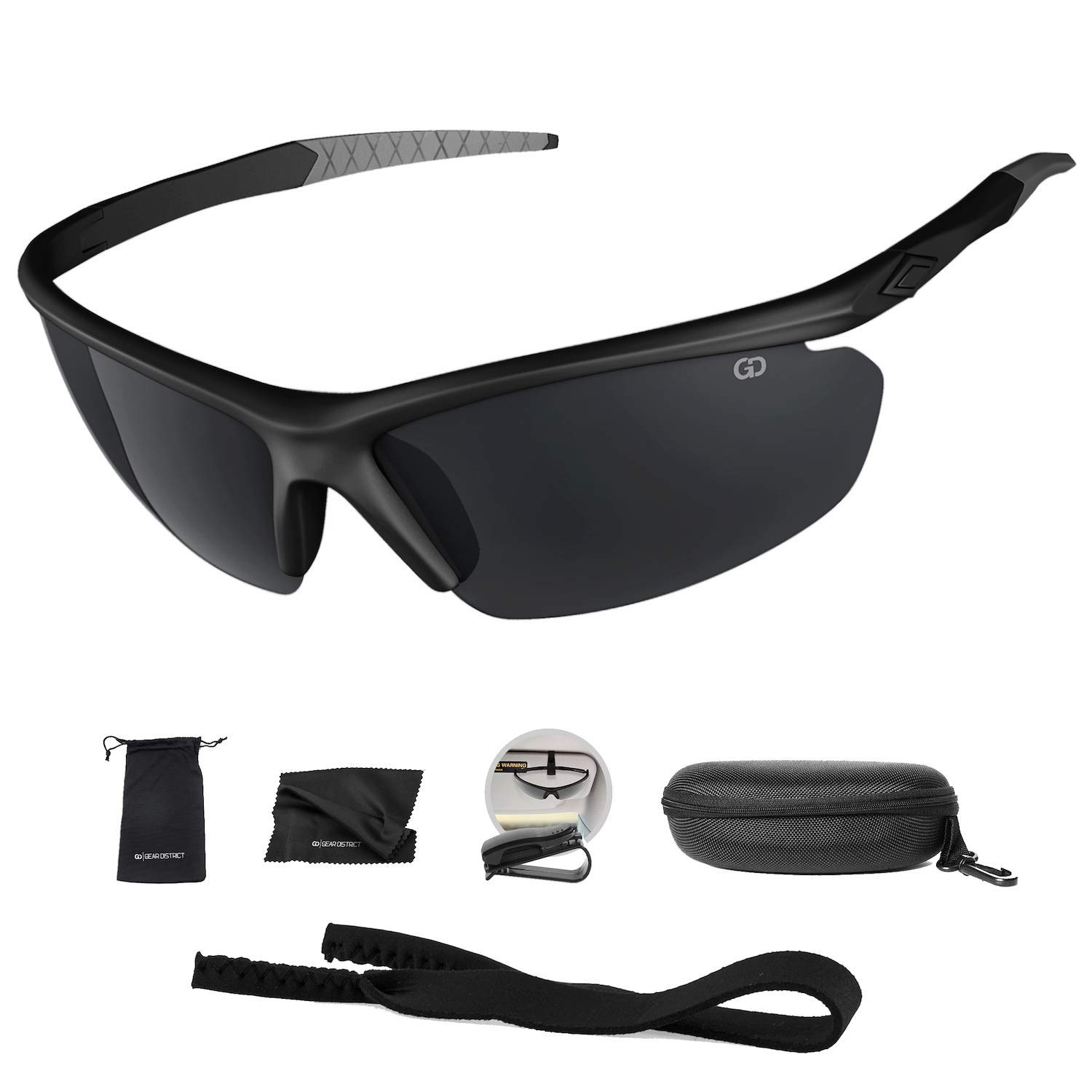 74f8a73b60 Polarized UV400 Sport Sunglasses Anti-Fog Ideal for Driving or Sports  Activity product image