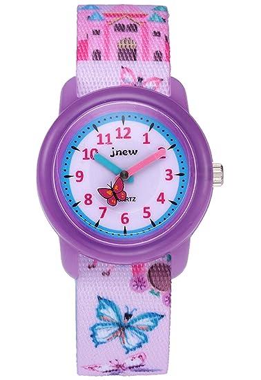 Reloj de Pulsera de Cuarzo para niñas y niños, niños